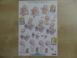 3d knipvel Baby Kinderen Hobby Post Doe maar 11052-225