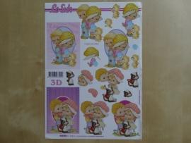 3d knipvel Baby Kinderen Le Suh 777.014