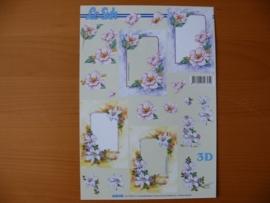 3d knipvel Bloemen Le Suh 4169.749