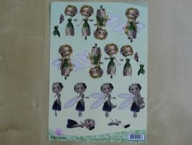 3d knipvel Diverse Find IT Helene Fleur CD 10054