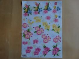 3d knipvel Bloemen Anne Design 2583