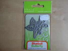 Snij en embossingmal Tonic Rococo Petites 1010E  Bluebell Butterfly Die...