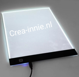 lichtplaat LED USB aansluiting