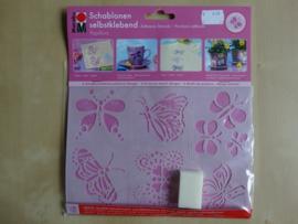 Marabu Zelfklevende sjablomen 6 designs Vlinders 0274 00 006