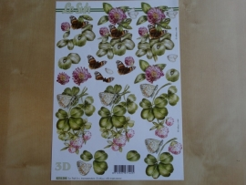 3d knipvel Dieren/Bloemen Le Suh 8215.384