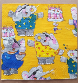 feestende olifanten