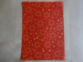perkamentvel rood sterren