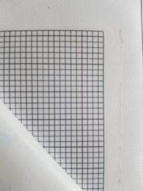 Leeg canvas vierkante steentjes 20 x 25