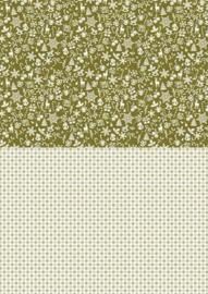 Nellie`s Choice Achtergrondvel Chr. Green-Snowflakes NEVA 040