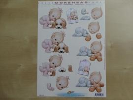 3d knipvel Baby Kinderen Hobby Post Doe maar 11052-035
