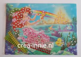 kinderpakket zeemeermin met regenboog