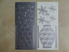 Stickervel Diverse 1092 Zilver