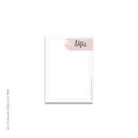 Notitieblok | Notes | Roze | A6