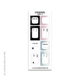 Stickervel | Labels | #2