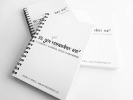 Adressenboekje A6 | Do you remember me? | De belangrijkste verjaardagen, adressen en wachtwoorden!