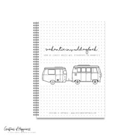 Vakantie invuldagboek | Voor de leukste dagjes weg, stedentrips en vakantie's