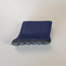laddervoet ASC premium bordestrap dop klein blauw 50 x 20 mm - LVASC01/50-bl