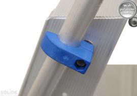 105109-01 Montageset voor neerklapbare beugel Solide dubbele trapladder blauwe beugel