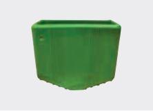 Facal PL-012 laddervoetje punt groen 24 x 60 mm