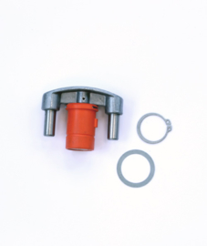 13800809 Wakü kern met pal voor veiligheidsscharnier, kunststof (tot 1983)