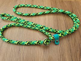 Jachtlijn 160 cm - Groene Mix