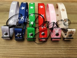 """ID-Bandjes (C) """"Stars""""- Complete Set (6) v.a"""