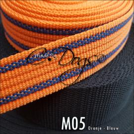 M05 - Oranje/Blauw