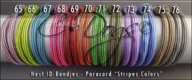 ID-Bandjes (B) BreakAway | Stripes Colors - Maat 2 - Per Stuk v.a