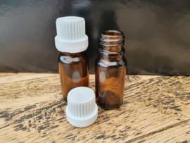 Druppel Flesjes (10ml) met witte dop