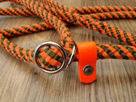 Jachtlijn 180 cm - Oranje/LegerGroen