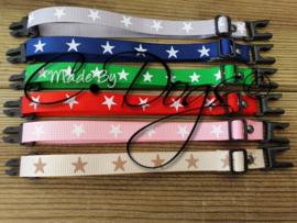 "ID-Bandjes (C) ""Stars""- Complete Set (6)"
