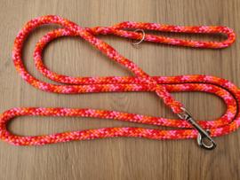 Standaardlijn 210 cm - Rood/Oranje/PinkRoze Mix