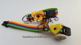 """ID-Bandjes (C) Complete Set (7)  """"Rainbow"""""""