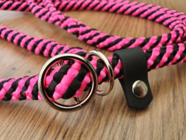 Jachtlijn 160 cm - PinkRoze/Zwart