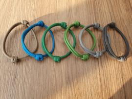 ID-Bandjes (A) Set 6 (6) - Maat 2 - Uitlopende Kleuren