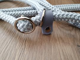 Jachtlijn 230 cm - Uni - Zilver Grijs