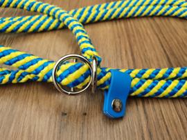 Jachtlijn 190 cm - Geel/Turquoise