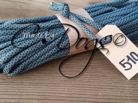 510 - Turquoise/Chocolate