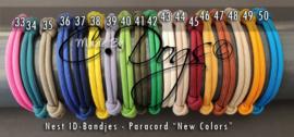 ID-Bandjes (B) BreakAway  | Uni Colors - Maat 2 - Per Stuk v.a