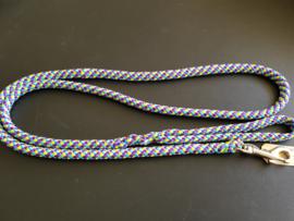 Standaardlijn 160 cm -Paars/Turquoise/Geel