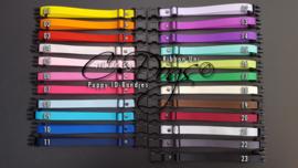 ID-Bandjes (C) Ribbon Uni - Complete Set (23) v.a