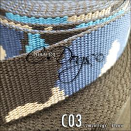 C03 - Camouflage Blauw