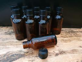 Flesjes (30ml) met zwarte dop