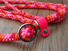 Jachtlijn 150 & 180 cm - Rood/Oranje/PinkRoze Mix