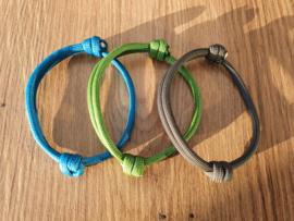 ID-Bandjes (A) Set 11 (3) - Maat 2 - Uitlopende Kleuren