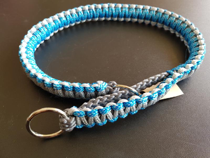 HalfCheck PPM/Cobra - Maat L - Antraciet - Blauw/ZilverGrijs