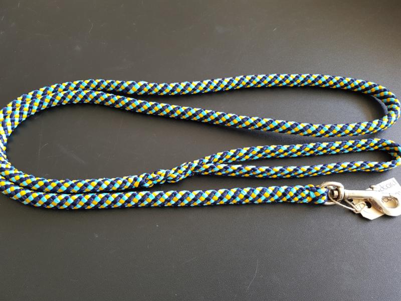 Standaardlijn 160 cm - Marine/Turquoise/Geel