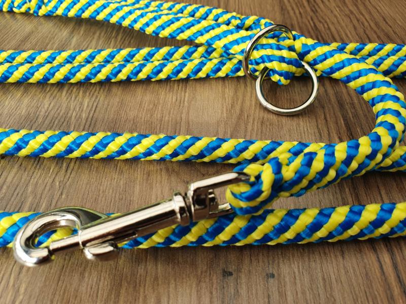 2-StandenLijn 270/145 cm - Geel/Turquoise