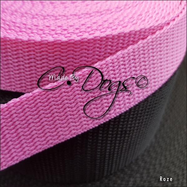 Roze - 25mm |  prijs per meter