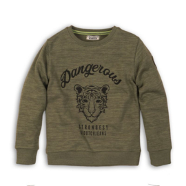 DJ Dutchjeans sweater army green - Dangerous